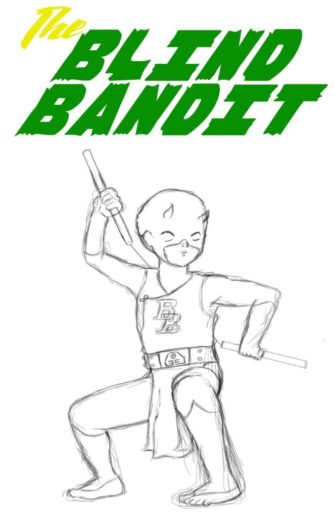 The Blind Bandit sketch for web